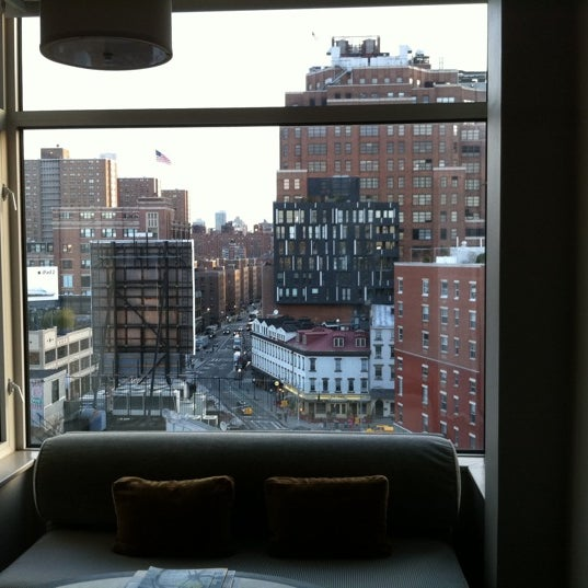 Photo taken at Gansevoort Meatpacking NYC by jeffery k. on 4/6/2011