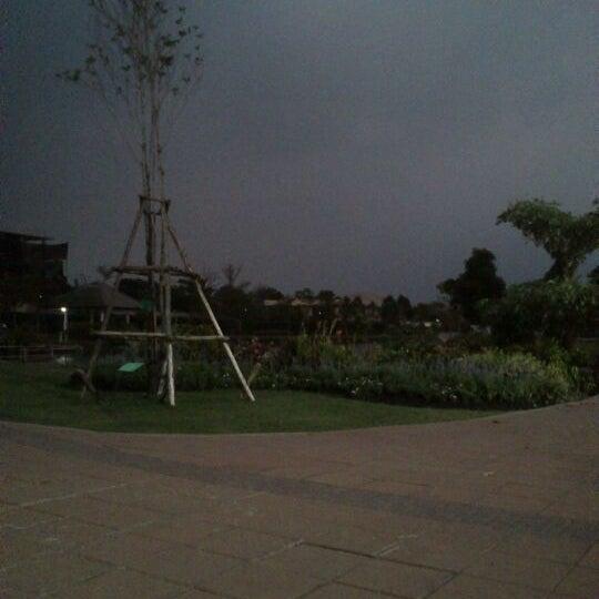Photo taken at สวนวนธรรม by mtuser p. on 1/4/2012