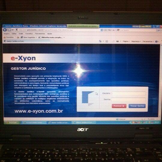 Das Foto wurde bei E-xyon von Claudia L. am 1/27/2012 aufgenommen