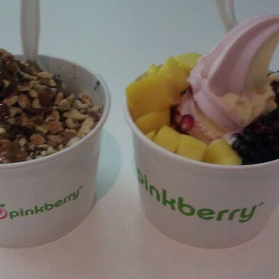 Photo taken at Pinkberry by Tony J. on 11/8/2011