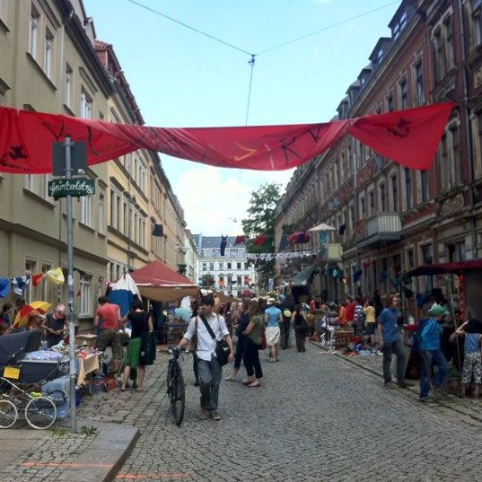 Photo taken at BRN - Bunte Republik Neustadt by Jaqui X. on 6/16/2012