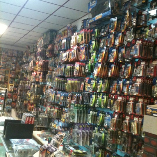 Photo taken at Third Planet Sci-Fi Superstore by Brent P. on 3/8/2012