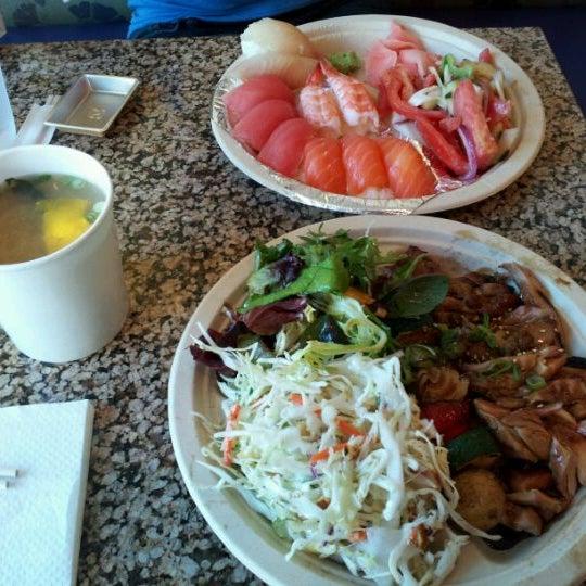 Photo taken at Sansai Japanese Grill by Nicolas on 4/28/2012