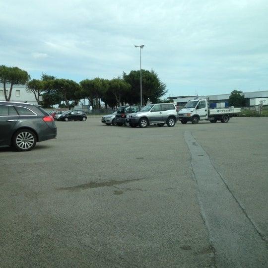 Photo taken at Parcheggio Via Sassonia by Namer M. on 5/14/2012
