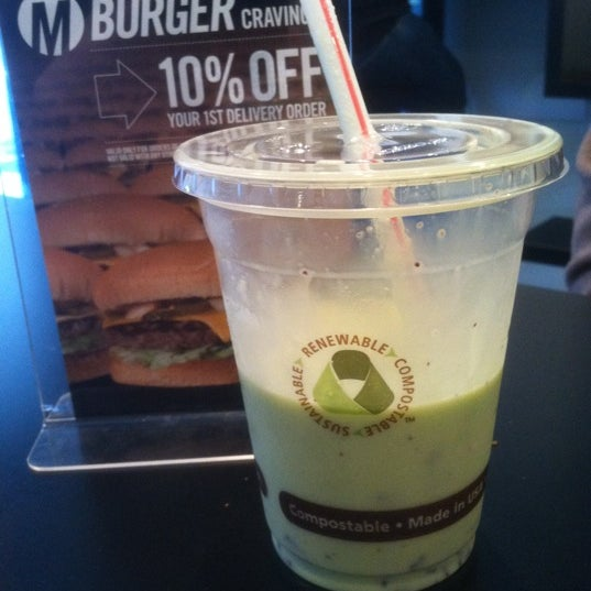 Try the mint chocolate chip shake. Very tasty!