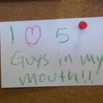 Photo taken at Five Guys by Tiffany B. on 4/29/2011