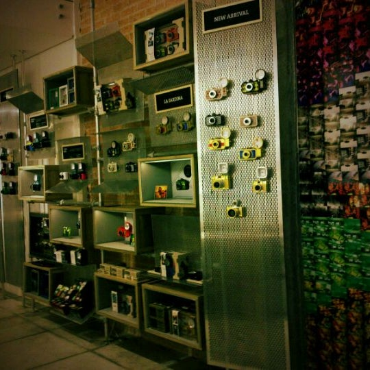 Photo taken at Lomography Gallery Store by thais n. on 1/18/2012