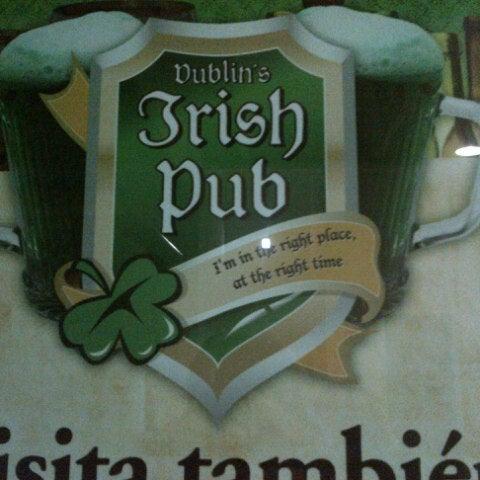 Photo taken at Dublin's Irish Pub by Eduardo P. on 7/17/2012
