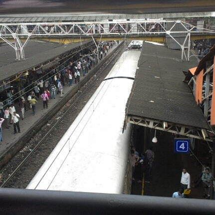 Photo taken at Dadar Railway Station by Harsh M. on 9/4/2012
