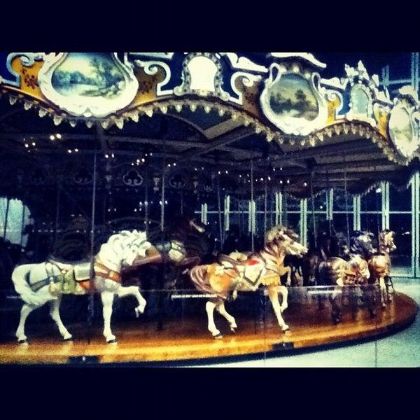 Photo taken at Jane's Carousel by Vadim V. on 7/29/2012