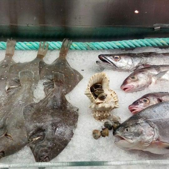 Photo taken at Cape Town Fish Market by frauhaus on 7/24/2012