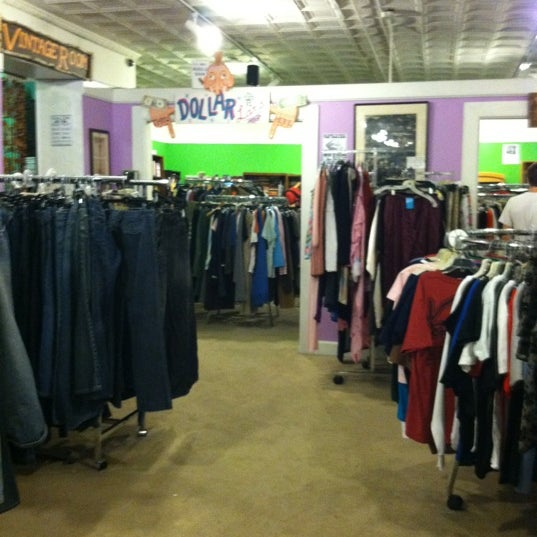Photo taken at Philly Aids Thrift Shop by Rosemary on 8/3/2012