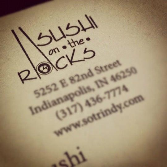 Photo taken at Sushi On The Rocks by Dakota N. on 6/12/2012
