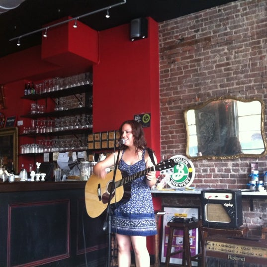 Photo taken at Abigail Cafe & Wine Bar by thecoffeebeaners on 6/21/2011