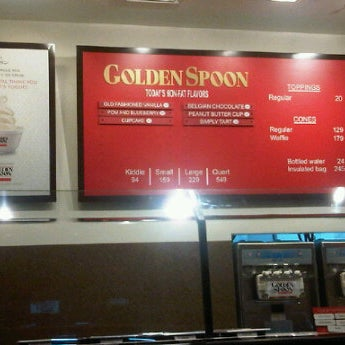 Photo taken at Golden Spoon by S G. on 3/19/2012