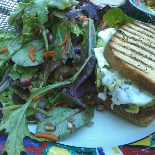 Photo taken at Sugar Plum Vegan Cafe by Haley C. on 9/16/2011