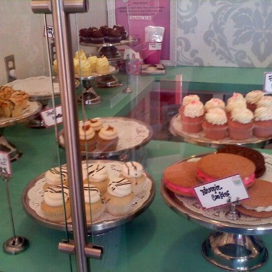 Photo taken at Sift Cupcake & Dessert Bar by Logdog E. on 9/30/2011