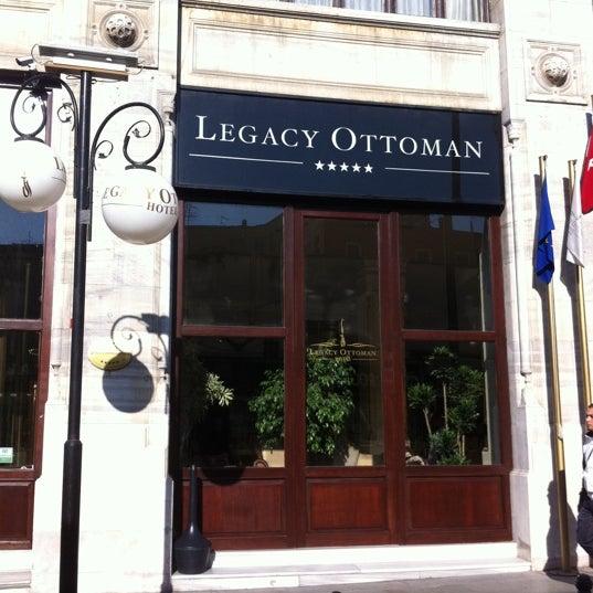 10/27/2011 tarihinde Melih ethem Y.ziyaretçi tarafından Legacy Ottoman Hotel'de çekilen fotoğraf