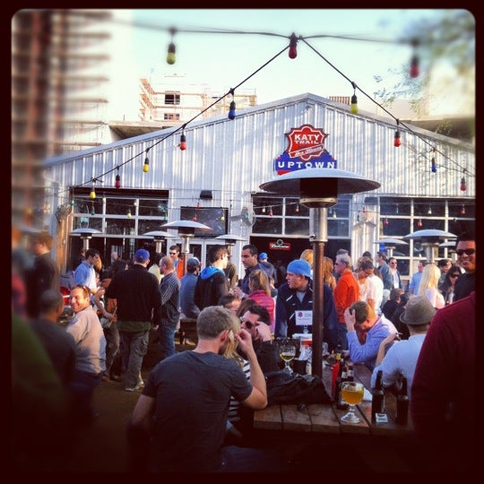 Photo taken at Katy Trail Ice House by Katie G. on 2/19/2012