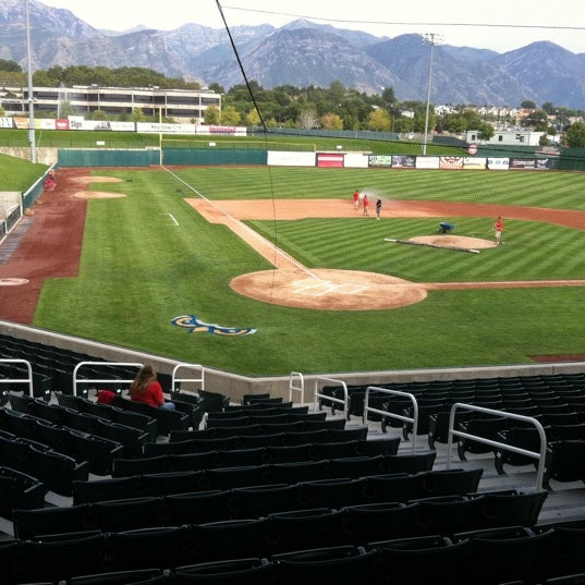 Photo taken at Brent Brown Ballpark by Neal P. on 9/5/2011