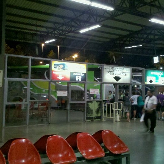 Photo taken at Terminal Rodoviário José Garcia Villar by Thiago B. on 11/28/2011