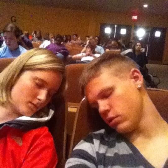 Photo taken at FHU Loyd Auditorium by Brandon M. on 9/21/2011