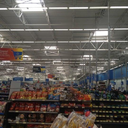 Photo taken at Walmart Supercenter by Robert on 9/6/2012