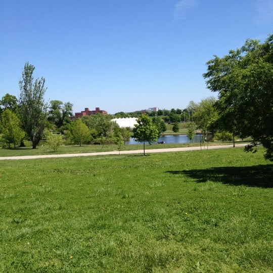 Photo taken at Patterson Park by Richie B. on 4/29/2012