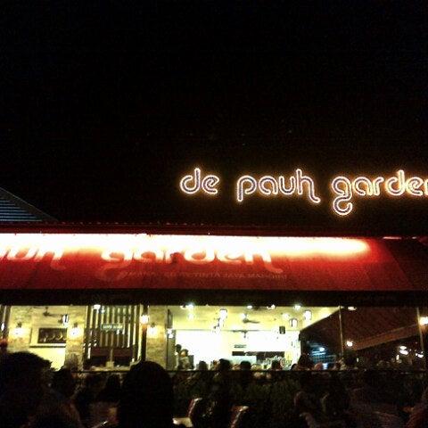 Photo taken at De Pauh Garden Restaurant & Cafe by Hafiz P. on 9/11/2012