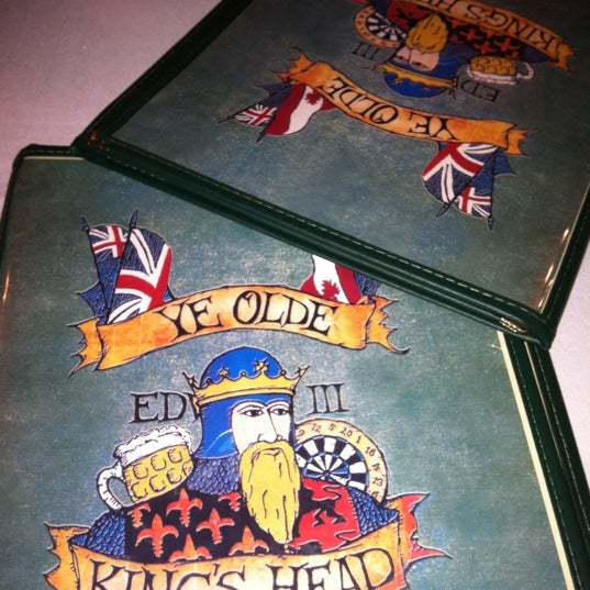Photo taken at Ye Olde King's Head by Kayla J. on 1/24/2012