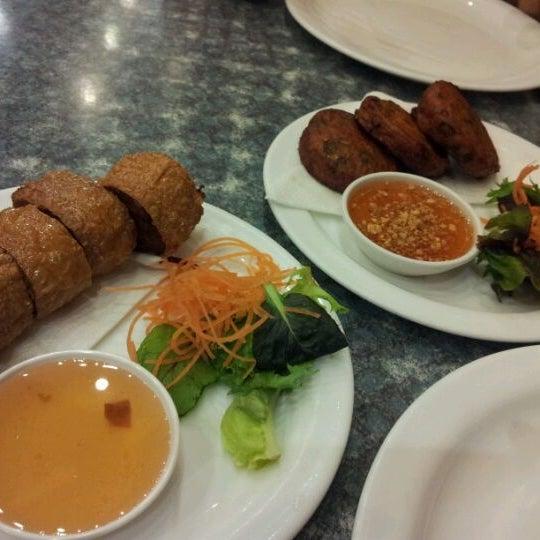 Photo taken at Taste of Thai by Jaye M. on 9/23/2011