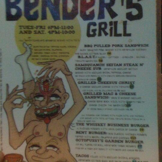 Photo taken at Bender's Bar & Grill by Rafael B. on 2/3/2011