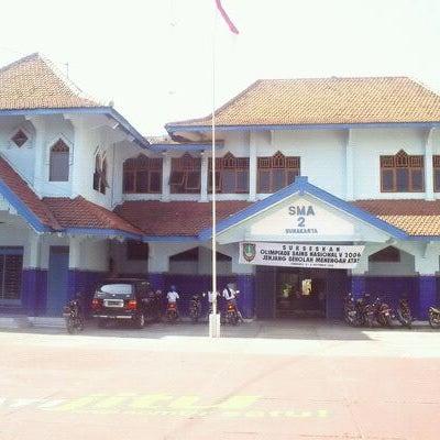 Photo Taken At SMA Negeri 2 Surakarta By Arif B On 8 18