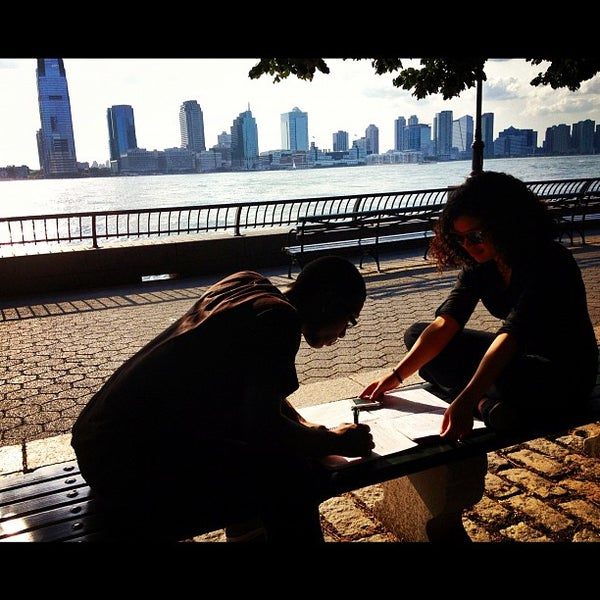 Photo taken at Battery Park City Esplanade by William C. on 5/29/2012