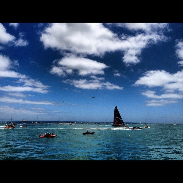 Foto tirada no(a) Porto de Recreio de Oeiras por Jorge B. em 6/10/2012