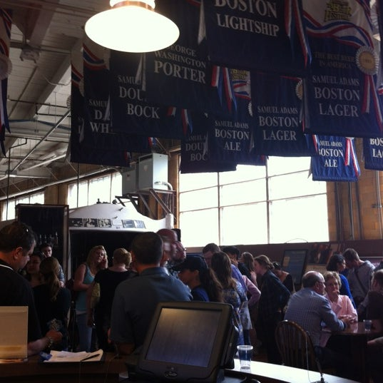 Photo taken at Samuel Adams Brewery by Lindsay H. on 5/18/2012