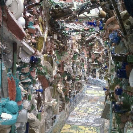 Photo taken at Philadelphia's Magic Gardens by Visit Philly on 9/11/2011