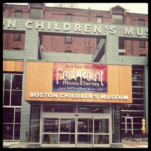 Photo taken at Boston Children's Museum by Satoru M. on 7/29/2012
