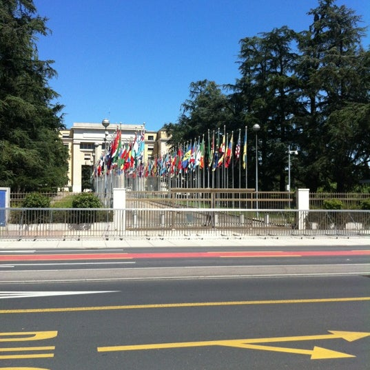 Photo taken at Palais des Nations by Maja G. on 7/23/2012