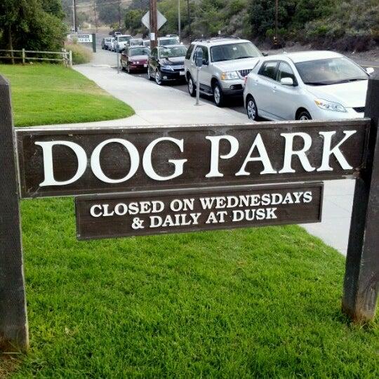 Photo taken at Laguna Canyon Dog Park by Darin E. on 6/12/2012