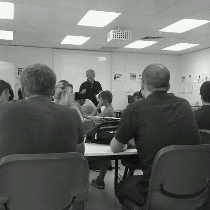 Photo taken at Uni SA - Kaurna Building by charlie-helen r. on 3/13/2012