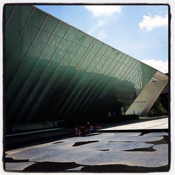 Foto tomada en MUAC (Museo Universitario de Arte Contemporáneo). por Orlando V. el 7/29/2012