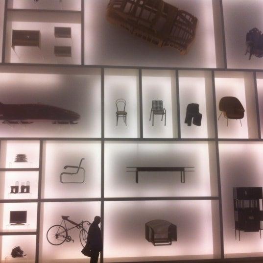 Photo taken at Pinakothek der Moderne by Raphael T. on 6/10/2012