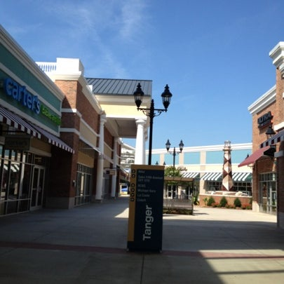 Photo taken at Tanger Outlet Mebane by Jimmy C. on 7/26/2012