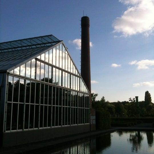 Photo taken at De Kas by D S. on 8/11/2012