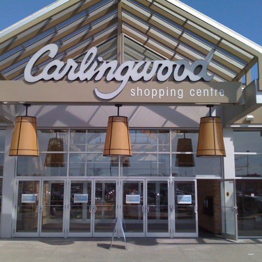 Photo taken at Carlingwood Shopping Centre by Frank F. on 3/22/2012