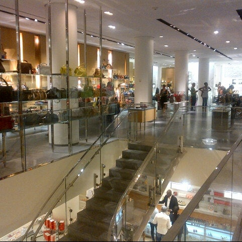 Photo taken at Barneys New York by Randall S. on 9/7/2012