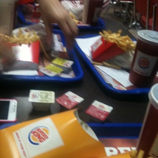 Photo taken at Burger King by Yasemin U. on 8/29/2012