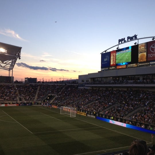 Photo taken at Talen Energy Stadium by Terry R. on 6/17/2012