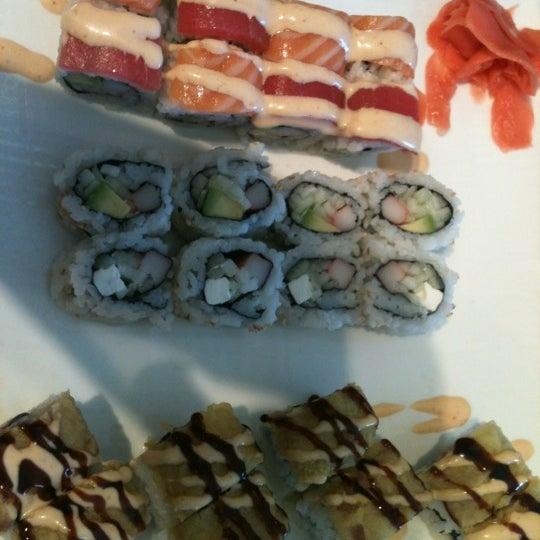 Photo taken at Fuji Japanese Steakhouse & Sushi Bar by A J. on 8/26/2012